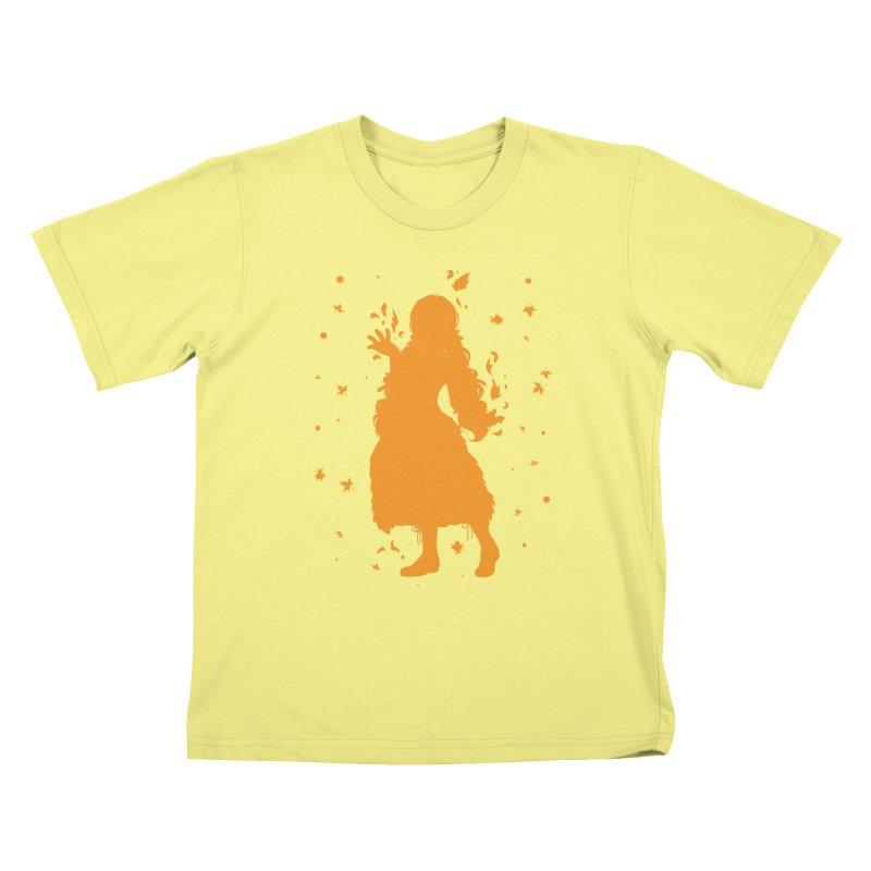 Autumn Power Kids T-shirt by TurningTideStudio's Artist Shop