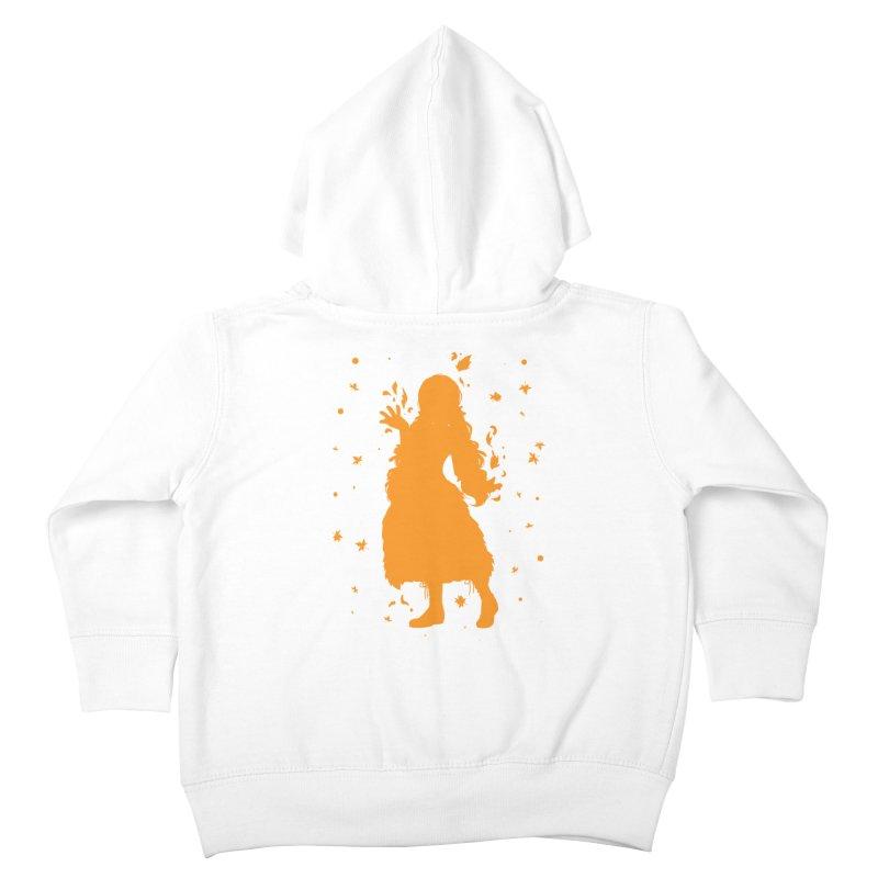 Autumn Power Kids Toddler Zip-Up Hoody by TurningTideStudio's Artist Shop