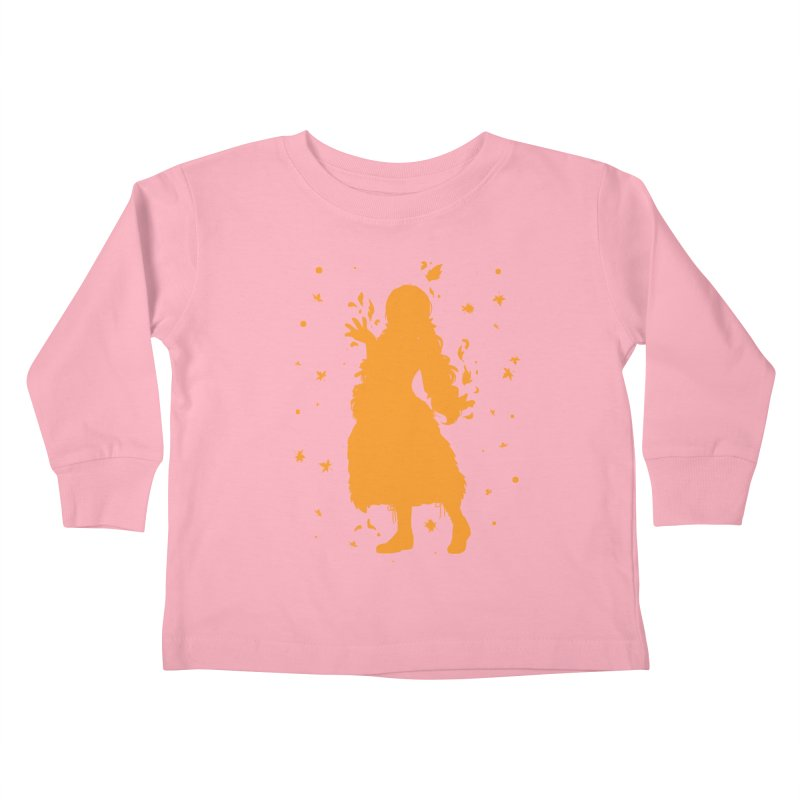 Autumn Power Kids Toddler Longsleeve T-Shirt by TurningTideStudio's Artist Shop