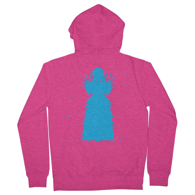 Winter Power Women's Zip-Up Hoody by TurningTideStudio's Artist Shop
