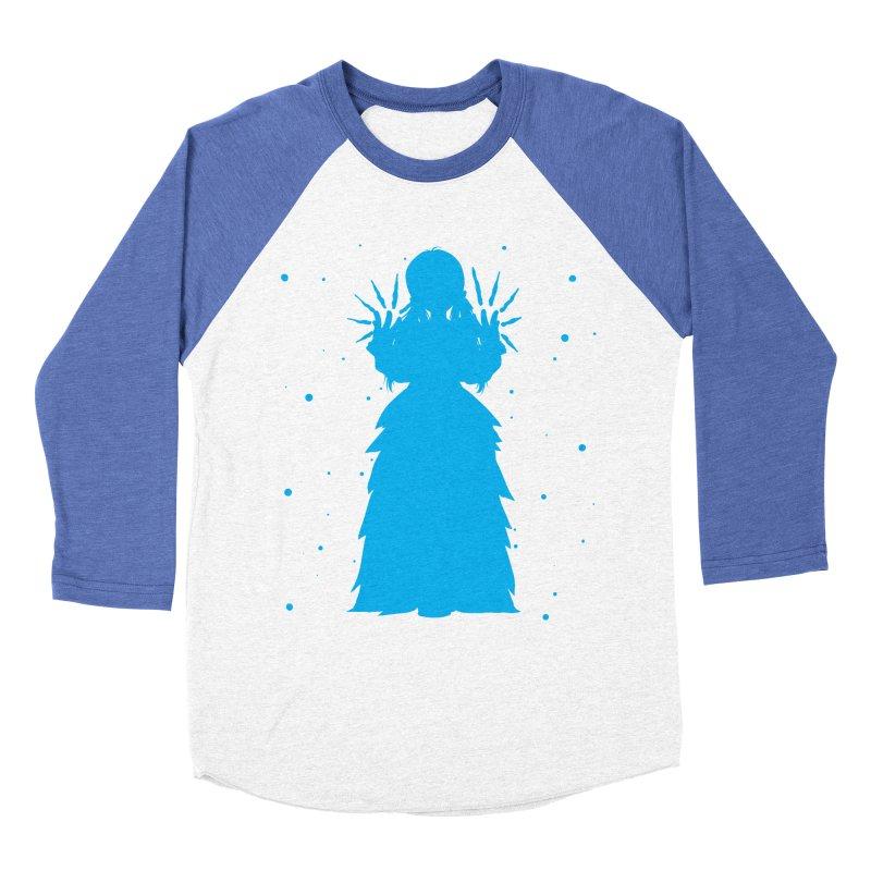 Winter Power Women's Baseball Triblend T-Shirt by TurningTideStudio's Artist Shop