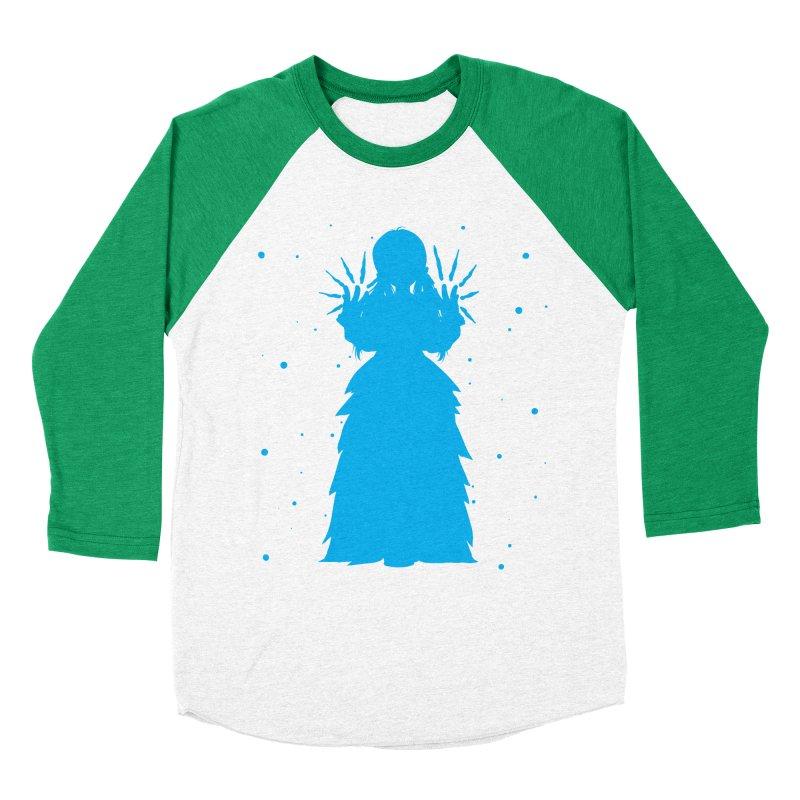 Winter Power Men's Baseball Triblend T-Shirt by TurningTideStudio's Artist Shop