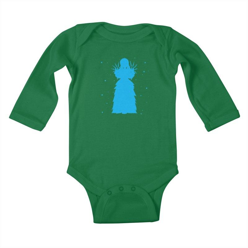Winter Power Kids Baby Longsleeve Bodysuit by TurningTideStudio's Artist Shop