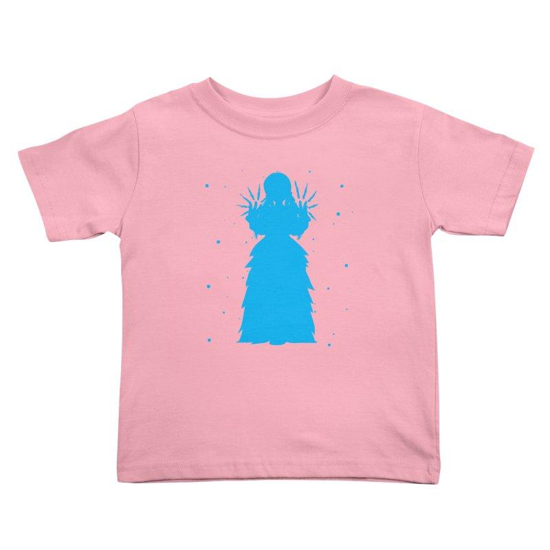 Winter Power Kids Toddler T-Shirt by TurningTideStudio's Artist Shop