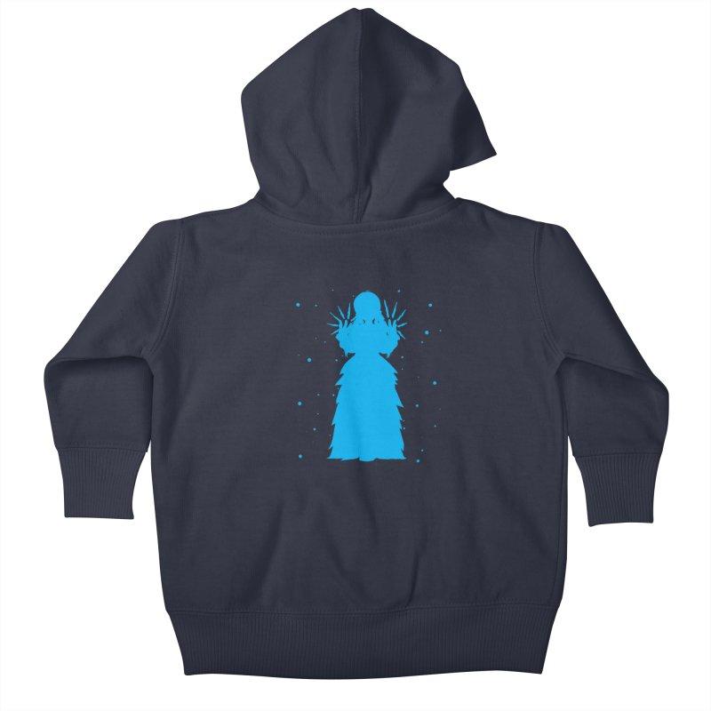 Winter Power Kids Baby Zip-Up Hoody by TurningTideStudio's Artist Shop