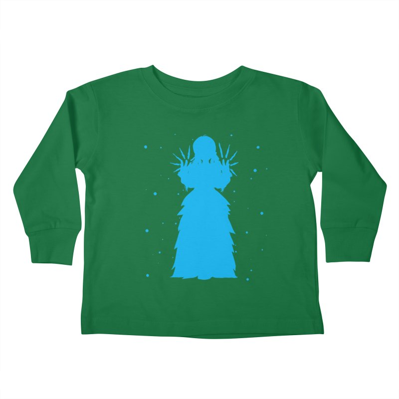 Winter Power Kids Toddler Longsleeve T-Shirt by TurningTideStudio's Artist Shop