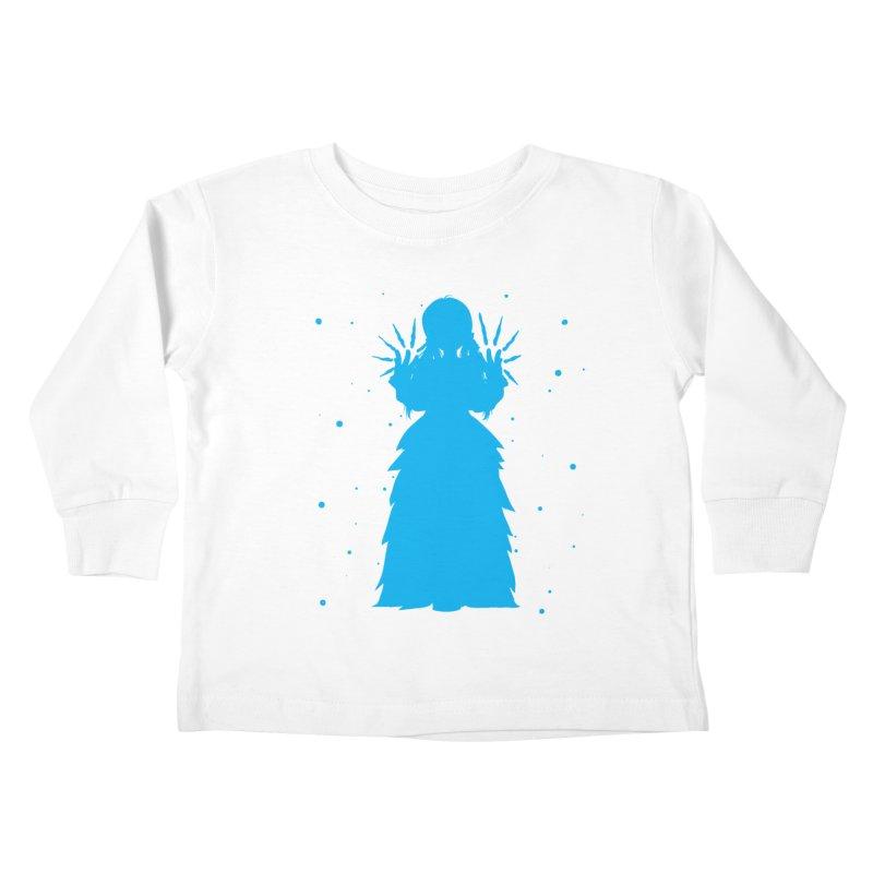 Winter Power Kids Toddler Longsleeve T-Shirt by TurningTideStudio's Artist Shop