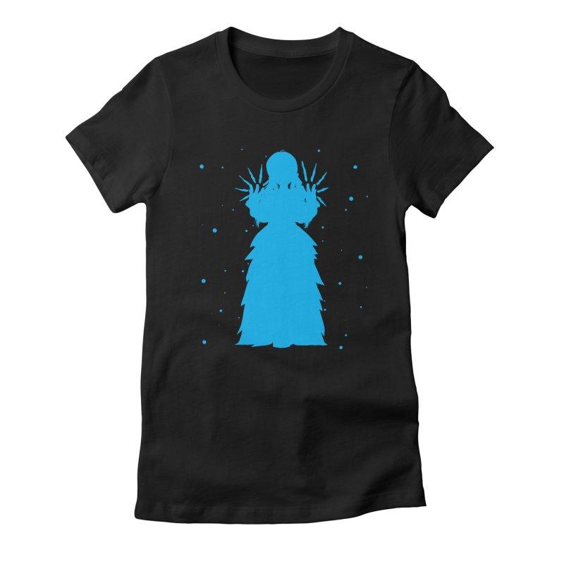 Winter Power Women's Fitted T-Shirt by TurningTideStudio's Artist Shop