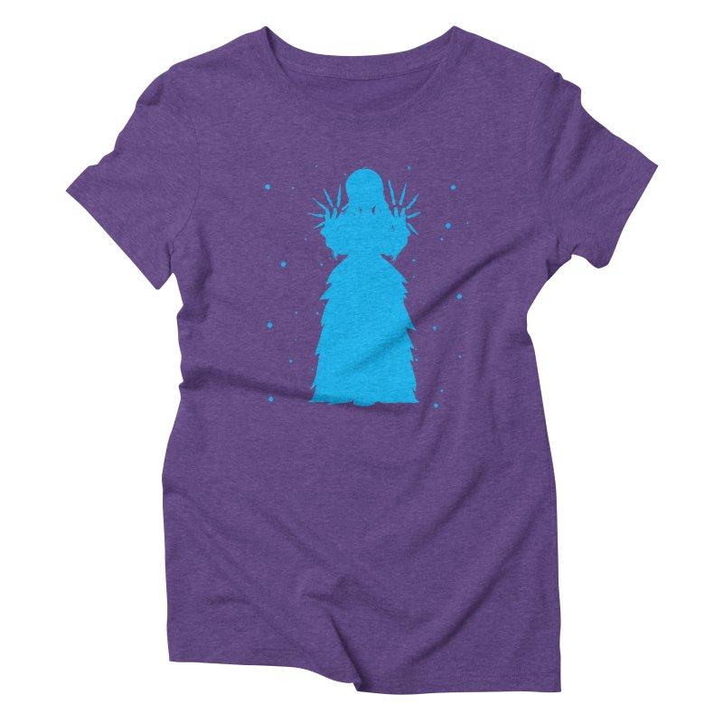 Winter Power Women's Triblend T-Shirt by TurningTideStudio's Artist Shop
