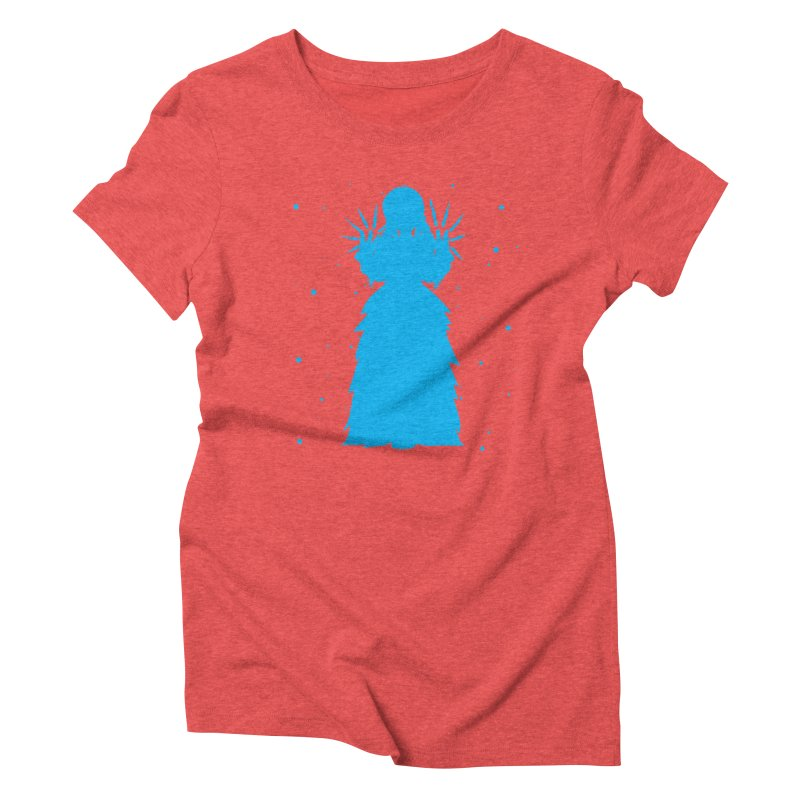 Winter Power Women's Triblend T-Shirt by TurningTideStudio's Artist Shop