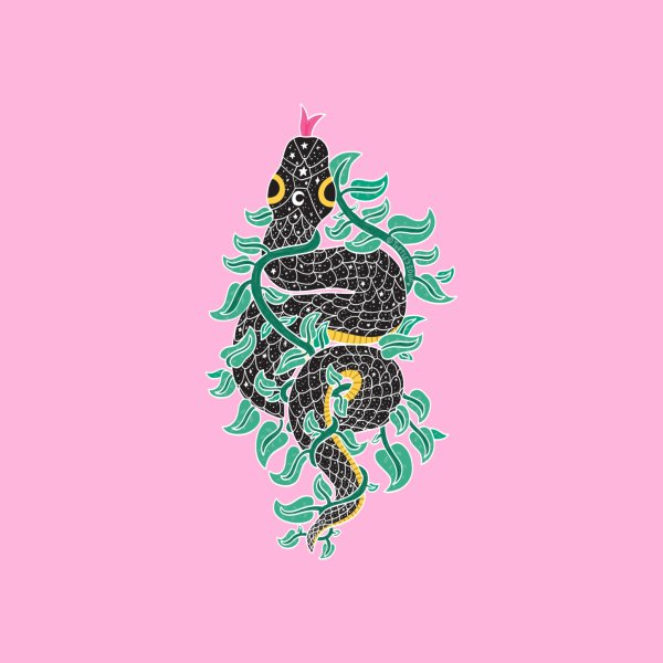 image for Starry Snake in the Vines