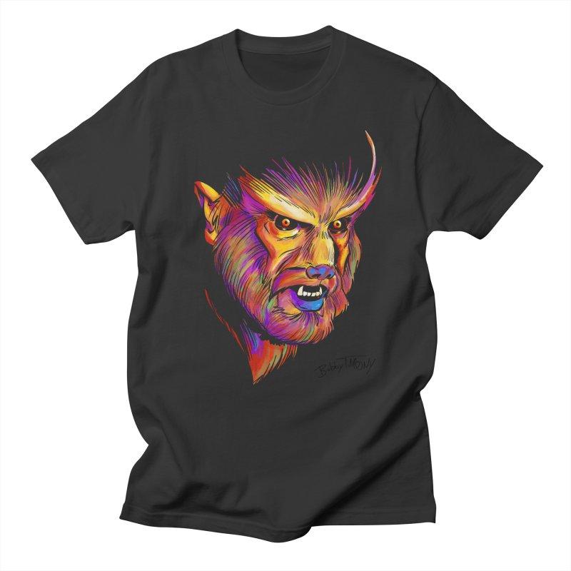 Wolfman Men's T-Shirt by Twin Comics's Artist Shop