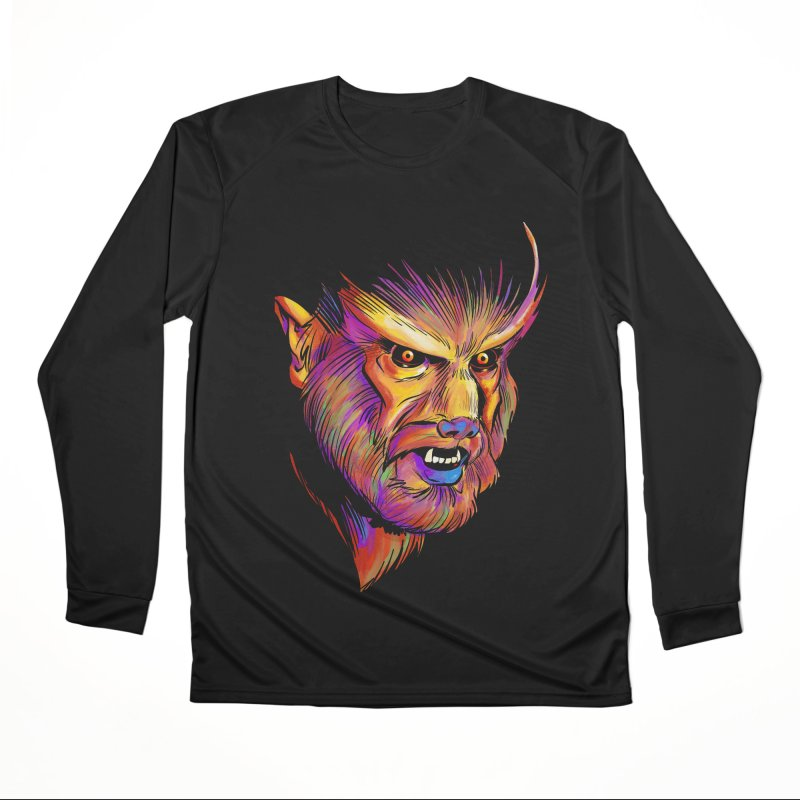 Wolfman Women's Longsleeve T-Shirt by Twin Comics's Artist Shop