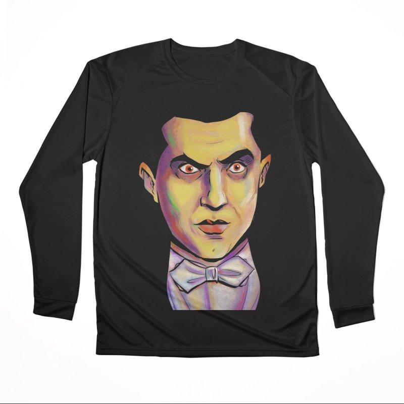 Dracula Women's Longsleeve T-Shirt by Twin Comics's Artist Shop