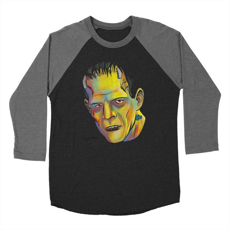 Frankenstein's Monster Women's Longsleeve T-Shirt by Twin Comics's Artist Shop
