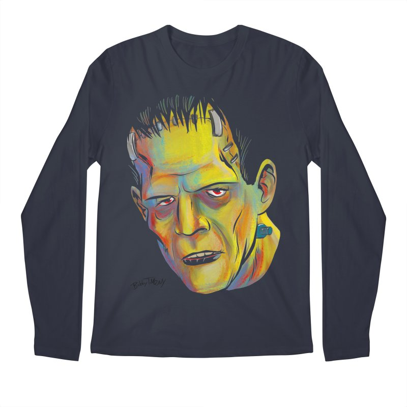 Frankenstein's Monster Men's Longsleeve T-Shirt by Twin Comics's Artist Shop