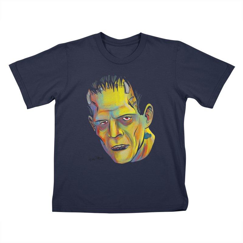 Frankenstein's Monster Kids T-Shirt by Twin Comics's Artist Shop