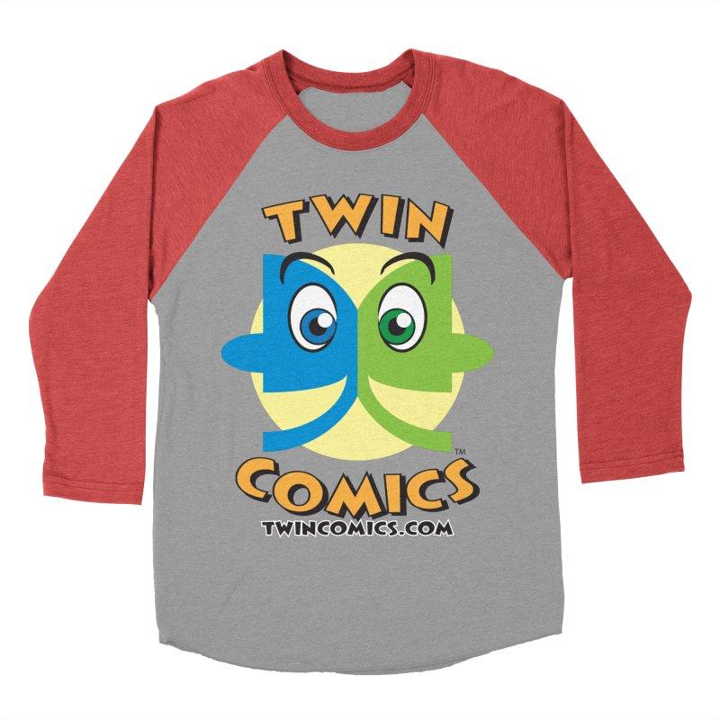Twin Comics Women's Baseball Triblend Longsleeve T-Shirt by Twin Comics's Artist Shop
