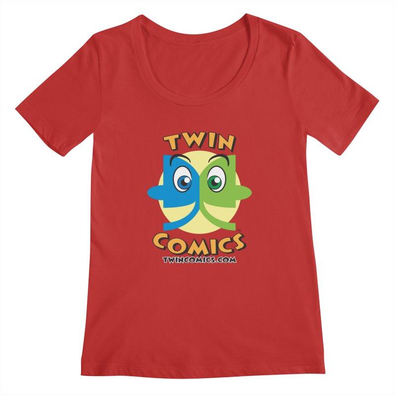 Twin Comics Women's Regular Scoop Neck by Twin Comics's Artist Shop