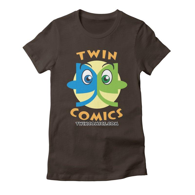 Twin Comics Women's Fitted T-Shirt by Twin Comics's Artist Shop