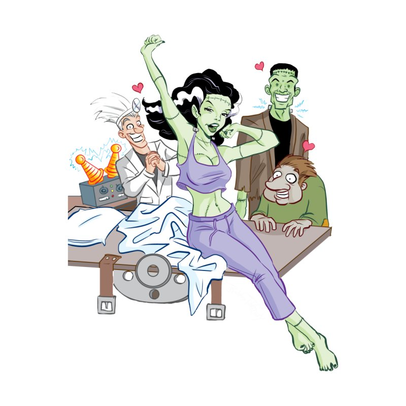 Bride of Frankenstein Pin Up by Twin Comics's Artist Shop