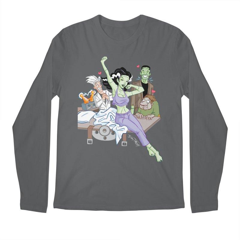 Bride of Frankenstein Pin Up Men's Longsleeve T-Shirt by Twin Comics's Artist Shop