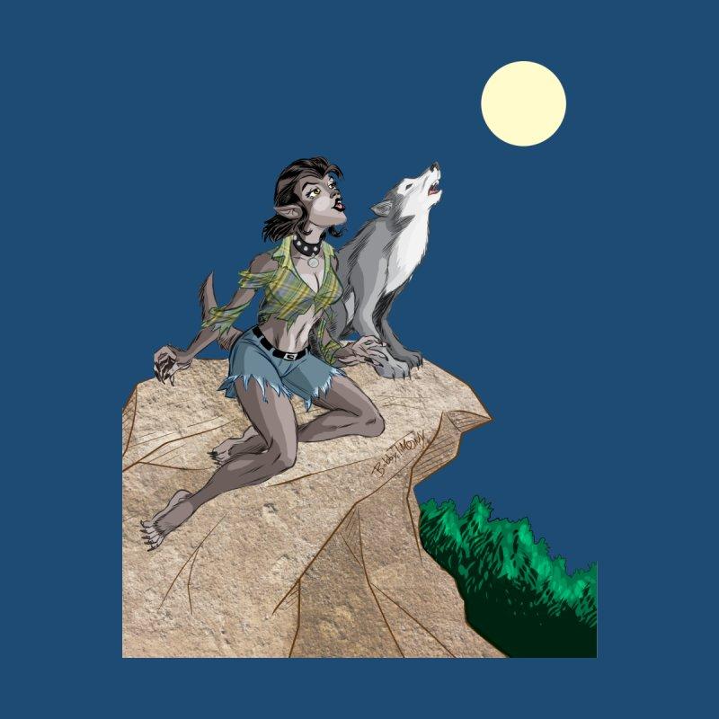 Werewolf Pin Up Girl by Twin Comics's Artist Shop