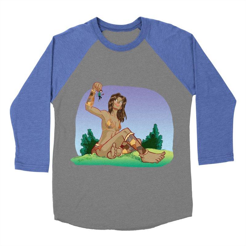Giant Women's Baseball Triblend Longsleeve T-Shirt by Twin Comics's Artist Shop