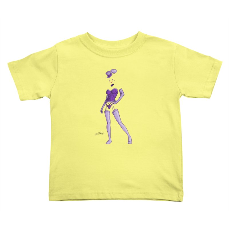 Invisible Woman Pin Up Girl Kids Toddler T-Shirt by Twin Comics's Artist Shop