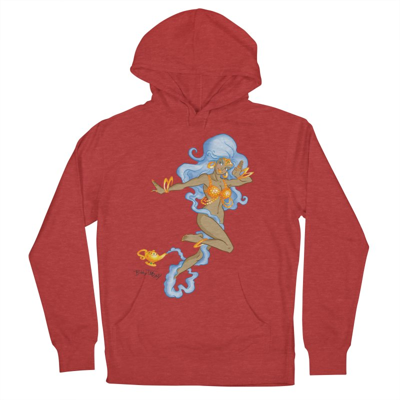 Genie Men's French Terry Pullover Hoody by Twin Comics's Artist Shop