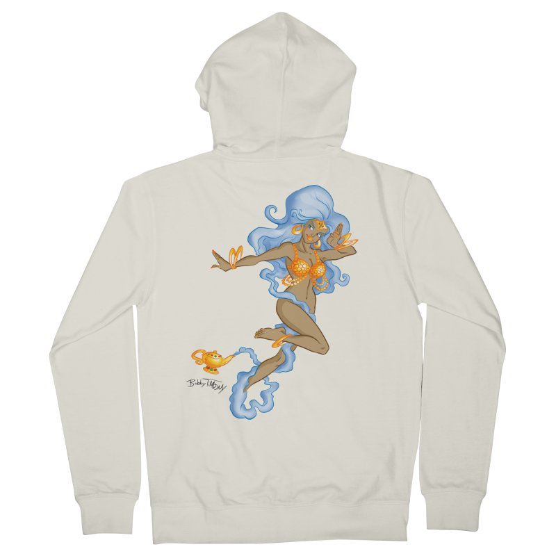 Genie Women's French Terry Zip-Up Hoody by Twin Comics's Artist Shop