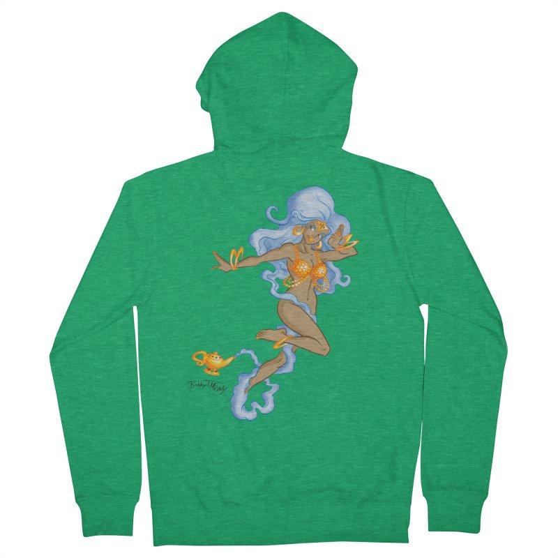 Genie Men's Zip-Up Hoody by Twin Comics's Artist Shop