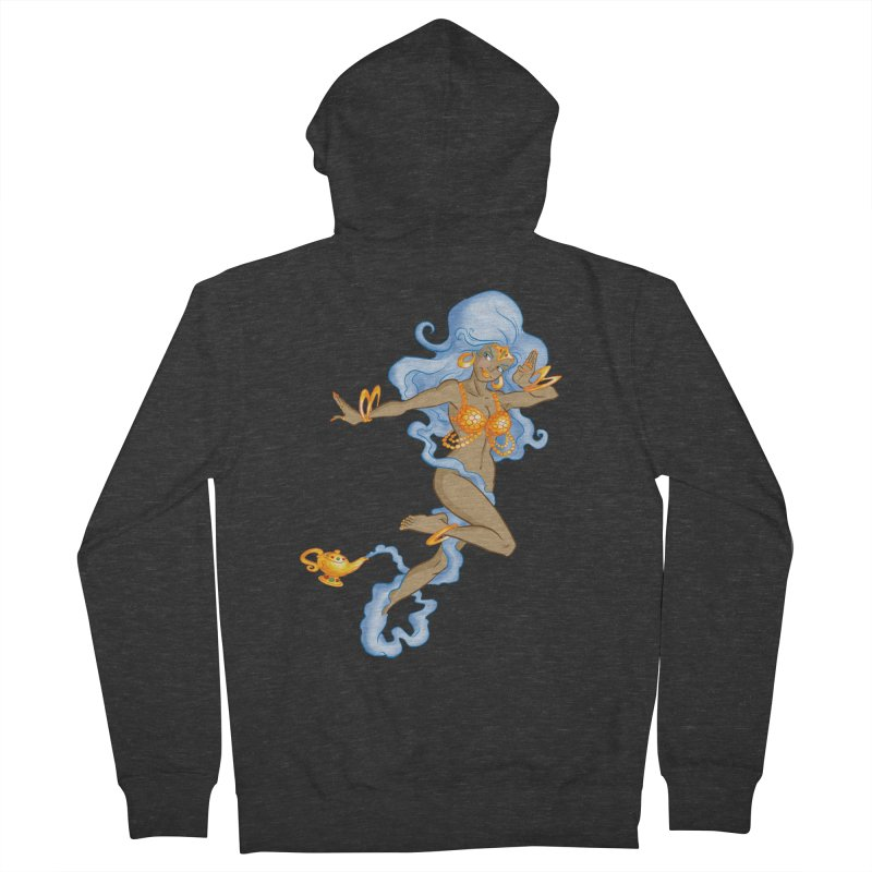 Genie Men's French Terry Zip-Up Hoody by Twin Comics's Artist Shop