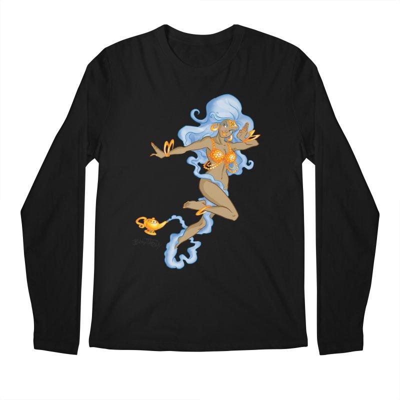Genie Men's Regular Longsleeve T-Shirt by Twin Comics's Artist Shop