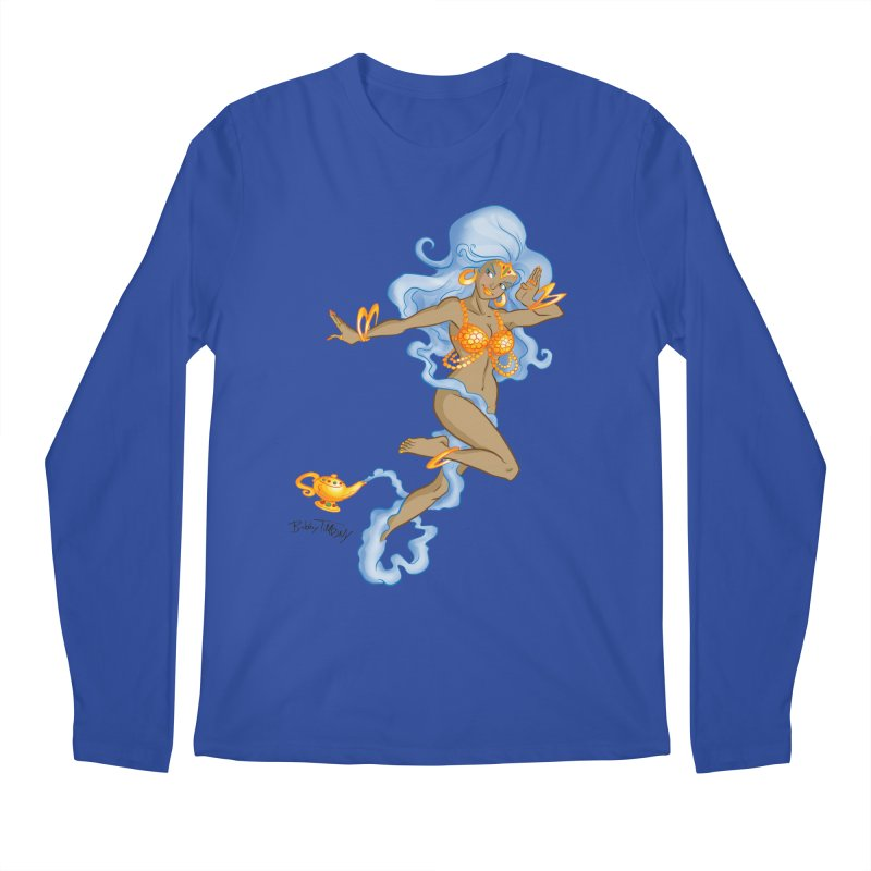 Genie Men's Regular Longsleeve T-Shirt by Twin Comics's Artist Shop