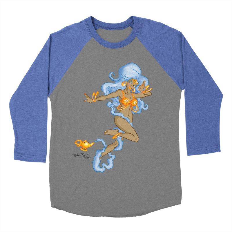 Genie Men's Baseball Triblend Longsleeve T-Shirt by Twin Comics's Artist Shop