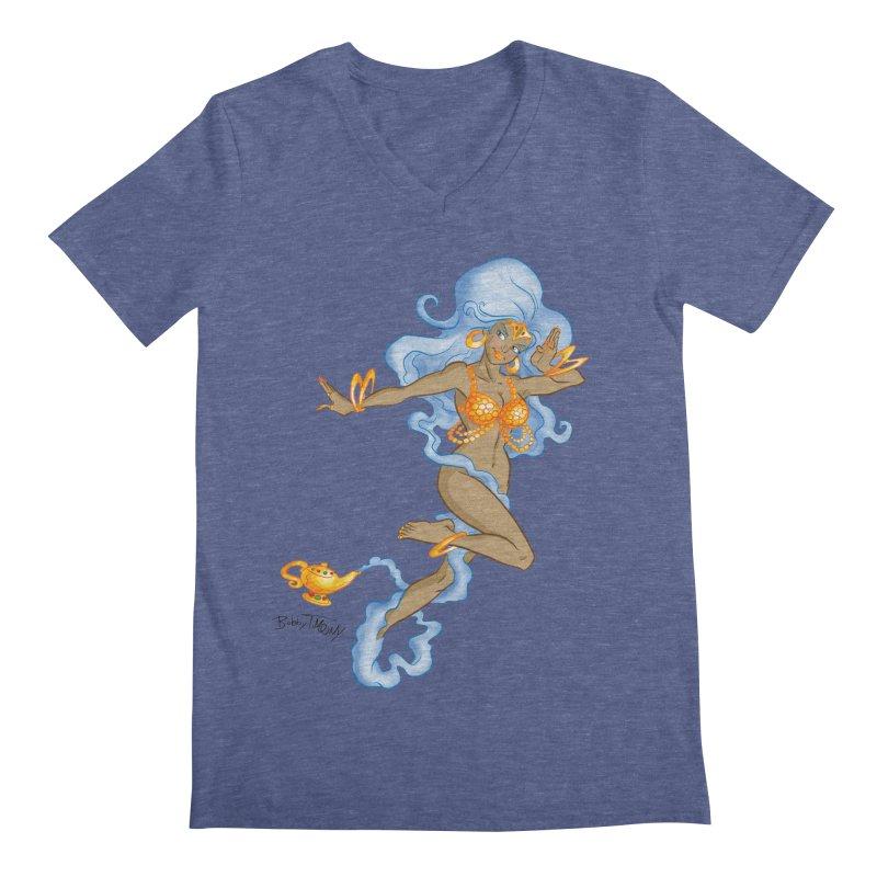 Genie Men's Regular V-Neck by Twin Comics's Artist Shop