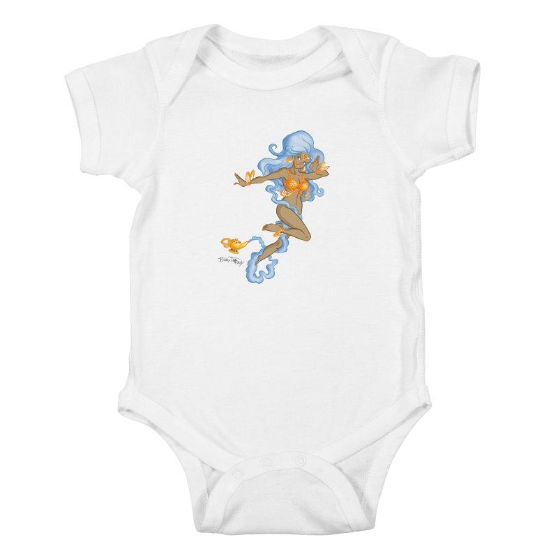 Genie Kids Baby Bodysuit by Twin Comics's Artist Shop