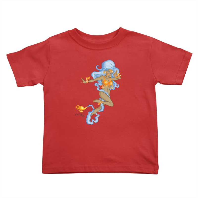 Genie Kids Toddler T-Shirt by Twin Comics's Artist Shop