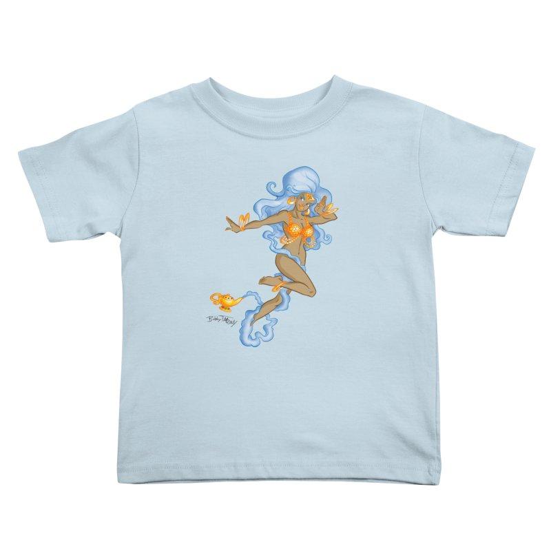 Genie Kids Toddler T-Shirt by Twin Comics's Artist Shop