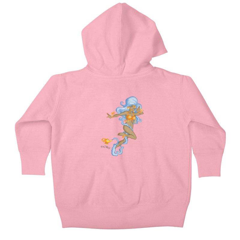 Genie Kids Baby Zip-Up Hoody by Twin Comics's Artist Shop