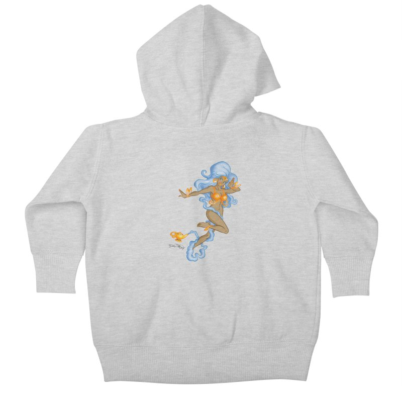 Genie Kids Baby Zip-Up Hoody by Twin Comics's Artist Shop