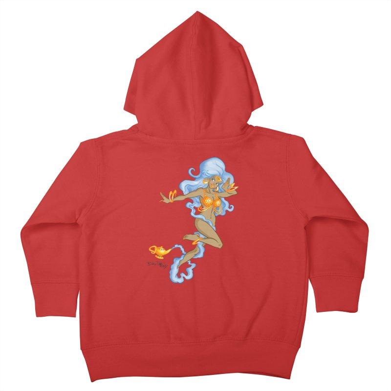Genie Kids Toddler Zip-Up Hoody by Twin Comics's Artist Shop
