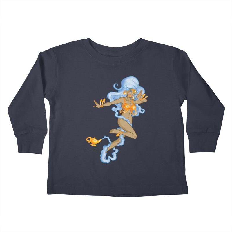 Genie Kids Toddler Longsleeve T-Shirt by Twin Comics's Artist Shop