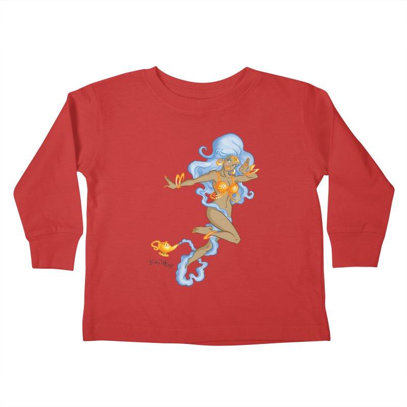 Genie Kids Toddler Longsleeve T-Shirt by Twin Comics's Artist Shop