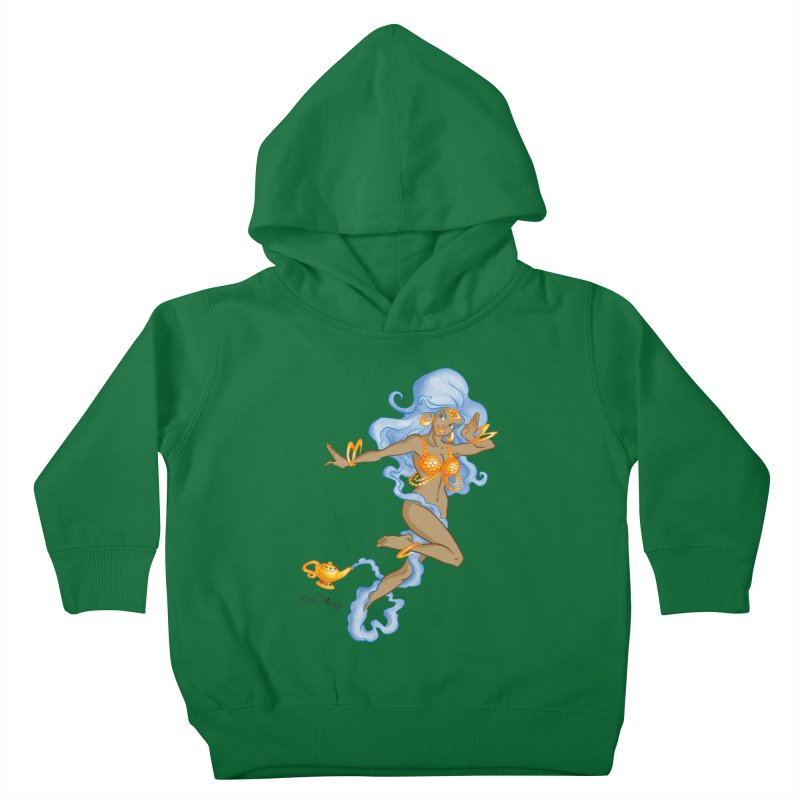 Genie Kids Toddler Pullover Hoody by Twin Comics's Artist Shop