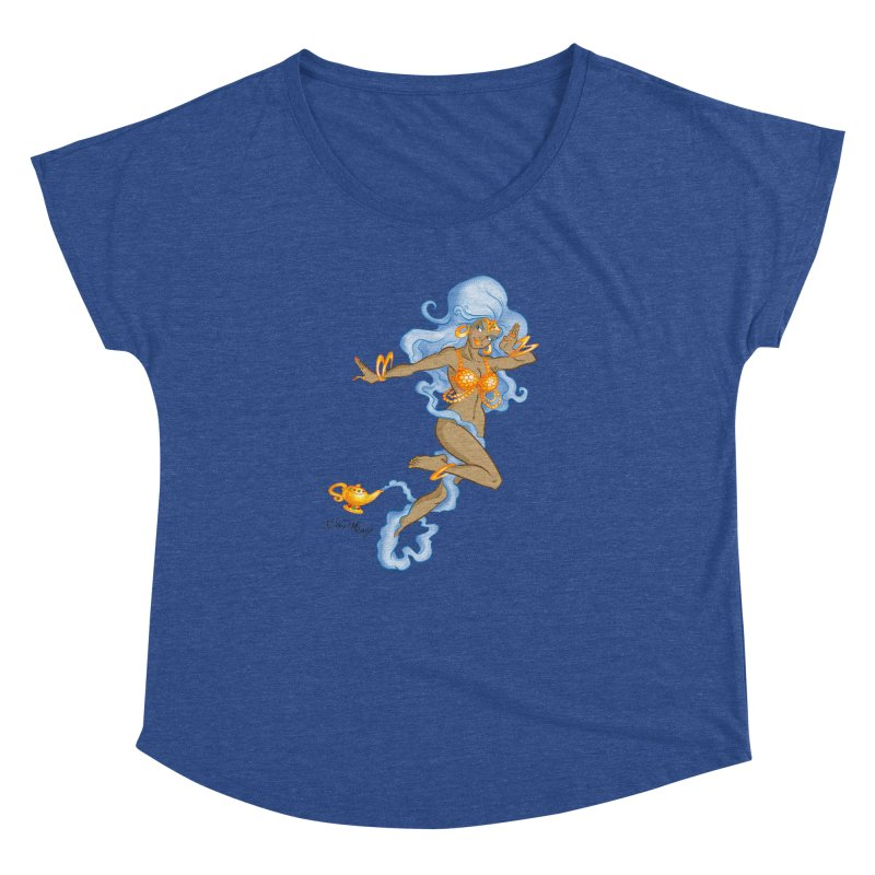 Genie Women's Dolman Scoop Neck by Twin Comics's Artist Shop