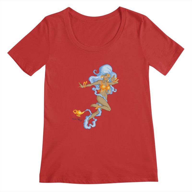 Genie Women's Regular Scoop Neck by Twin Comics's Artist Shop