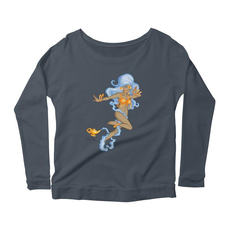 Genie Women's Scoop Neck Longsleeve T-Shirt by Twin Comics's Artist Shop