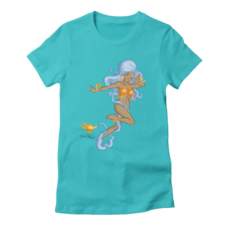 Genie Women's Fitted T-Shirt by Twin Comics's Artist Shop
